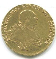 Preußen , Friedrich Wilhelm II . , Friedrichs d ´ or 1794 A fast sehr schön GOLD
