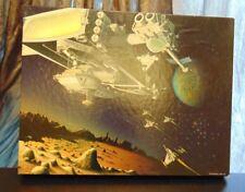 Vintage Art Puzzle - Space Gypsies 100% Complete Springbok Over 500 Piece 1975