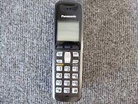 Panasonic KX-TGA641T   Cordless Expansion Handset Phone  KX-TGA641...USED