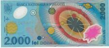 A   SAISIR   CE  BILLET   ROUMANIE    2000   LEI    NEUF   1999   !!!!    UNC .