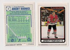 92-93 OPC 23/26 JEREMY ROENICK ROOKIE REPRINT CHICAGO BLACK HAWKS O-PEE-CHEE