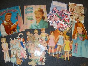 Paper doll lot, Betty, a Wood Doll, Star Babies, Annie Oakley, more