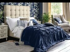 Brand new Stunning Laura Ashley Audley Midnight Bedspread 240cm X 260cm *RARE*