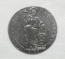 Silber/Silver Niederlande/Netherlands/Holland, 1762, 1 Gulden VZ/XF