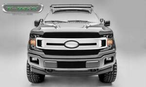 T-Rex 2018-2019 Fits Ford F150 Billet Main Grille Overlay Black Aluminum Finish