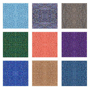 Miyuki Japanese Seed Beads Round Rocailles 15/0, 11/0, 8/0 Inside Dyed Colors