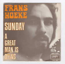 SP 45 TOURS FRANS HOEKE SUNDAY VOGUE OXV. 566 en 1971