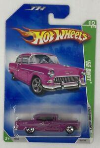2009 Hot Wheels Treasure Hunts '55 Chevy Limited Edition Rare # 10 Of 12