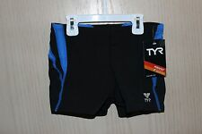New TYR Durafast Square Leg swimming suite boys size 28
