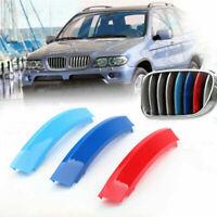3D M Color Grille Trim Strips Grill Cover Stickers Pour BMW X5 E53 LCI 2004-07 A