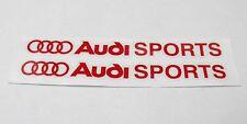 Adesivi AUDI SPORT A2 A3 A4 A5 TT S3 RS4 A8 A6 A1 Q7 RS SLINE -