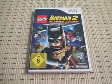 LEGO Batman 2 DC super Heroes pour nintendo wii et wii u * OVP *