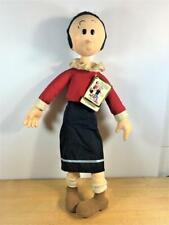"1985 Vintage Olive Oyl Doll #4055 - Presents Kfs Nwt 19"" Tall"
