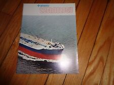 Sperry Rand Corporation Magazine Ships Shipping 1974