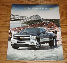 Original 2011 Chevrolet Commercial Truck Sales Brochure 11 Chevy Silverado