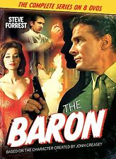 THE BARON Complete TV Series 1966 James Bond OOP John Creasey RARE Steve Forrest