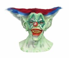 OUTTA CONTROL CLOWN LATEX MASK HORROR ADULT HALLOWEEN COSTUME ACCESSORY