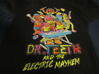 THE MUPPETS BLACK DR. TEETH AND THE ELECTRIC MAYHEM LARGE T-SHIRT PRE-OWNED