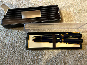 Mcdonalds Parker Ballpoint Pen & Fountain Pen Set With Box
