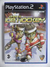COMPLET jeu KIDZ SPORTS ICE HOCKEY sur playstation 2 PS2 en francais spiel juego