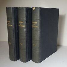 History of North Dakota 3 Vols 1931 Crawford Biography Family History Genealogy