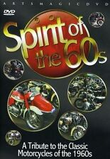 Spirit Of The 60's DVD (2009). Classic Bikes. 52 Min. Approx. FREE SHIPPING