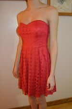 Juniors Red Bongo Dress Size M Medium Prom Wedding Summer Dance