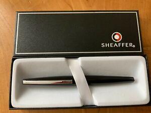 Sheaffer Taranis 9440 Black Laque Fountain Pen RRP £99 Broad(New) Free UK Post