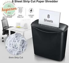 Commercial Office Shredder Paper Destroy Strip Cut Documents Cd Dvd Credit Card