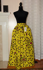 SP Collections, African Print Maxi Women Skirt One Size