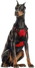 rabbitgoo Red Dog Harness No-Pull Pet Harness Adjustable Pet Vest Reflective XL