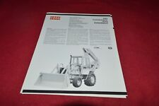 Case Tractor 780 Backhoe Extendahoe Dealer's Brochure RPMD