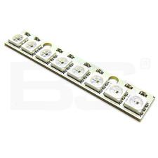 WS2812B RGB bande 8 LED couleur 5050 24bit 800Kbps 1024 points 5.0V Arduino