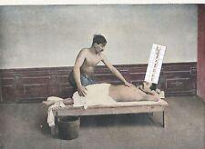 1003/ image déco à encadrer vers 1890 Asie cent. Caucase - Tifflis bains massage