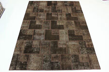moderne Patchwork Délavé Used Look PERSAN TAPIS tapis d'Orient 3,50 X 2,50