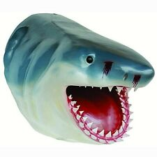More details for great white shark head large-sized statue figure wall hanging