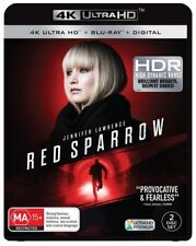 Red Sparrow (Blu-ray, 2018, 2-Disc Set)