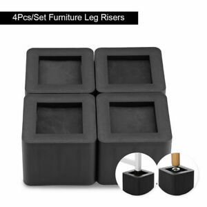 Adjustable Heavy Duty Furniture Risers Sofa Bed Table Chair Riser Legs Lift