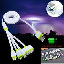 4 in 1 Multi Usb Charger Adapter Charging Cable Connectors 30P 8P mini &Micro ㅊ
