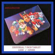 PAW PATROL  7 INCH ANDROID TABLET CASE SAMSUNG , PENDO, LENOVO -PAW PATROL BLUE
