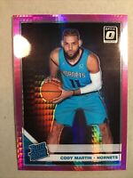Cody Martin 2019-20 Donruss Optic Rated Rookie Pink Hyper Prizm #181 Hornets