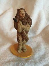 Vintage 1988 Wizard of Oz Franklin Mint Cowardly lion Figurine