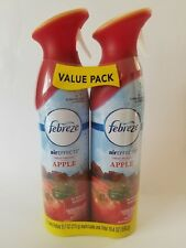 FEBREZE AIREFFECTS FRESH-PRESSED APPLE AIR REFRESHER 2 9.7 OZ