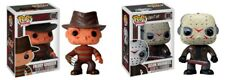 FUNKO Pop Jason Voorhees & Freddy Krueger Horror Action Figures Set Of 2 New