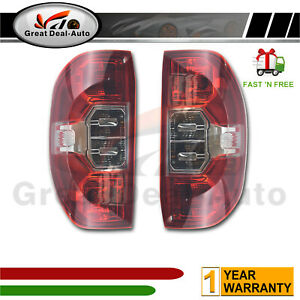 *NEW* TAIL LIGHT REAR BACK LAMP for LDV T60 PRO LUXE TRAILRIDER 2017 - ON Pair