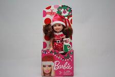 BARBIE 2013 CHELSEA KELLY DOLL CHRISTMAS SANTA HAT COSTUME TARGET EXCLUSIVE NIB