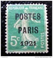 FRANCE - timbre - yvert et tellier préobliteré n°26 (sans gomme) - stamp french
