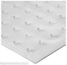 "Tenex 1026000 27"" x 100 ft Clear vinyl Low Pile Carpet Protector Runner"