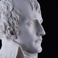 Marble Bust of Napoleon Bonaparte 1st Consul, Sculpture. Art, Gift, Ornament.