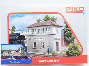 "Lot 11634 Piko Ho 61822 "" Railway Control Tower Burgstein "" Signal Box Kit New"